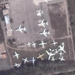 Manas aircraft boneyard