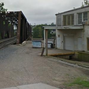 """Dropping Off the Money to Chango (""""30 Minutes or Less"""" film) (StreetView)"""