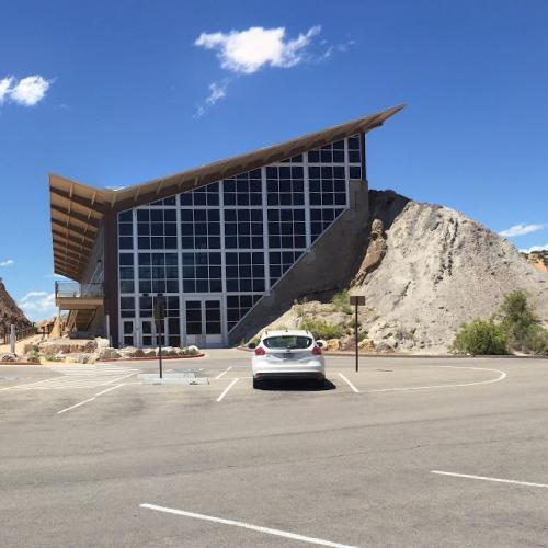 Quarry Visitor Center in Vernal, UT (Google Maps)