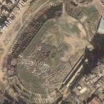 An Old Abandoned Stadium