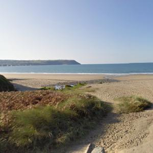 """Penbryn Beach (""""Die Another Day"""") (StreetView)"""