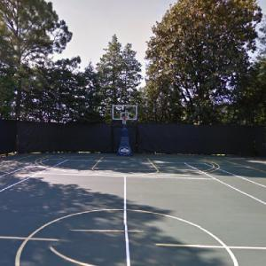 Basketball Court - White House (Formerly tennis court) (StreetView)
