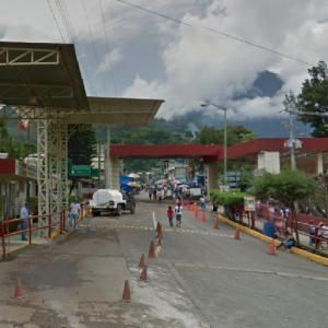 La Mesilla border crossing (Guatemala-Mexico) (StreetView)