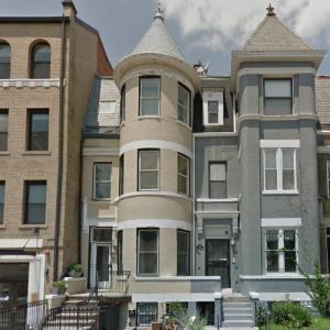 David White House (StreetView)