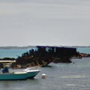 HM Floating Dock (shipwrecked) (StreetView)