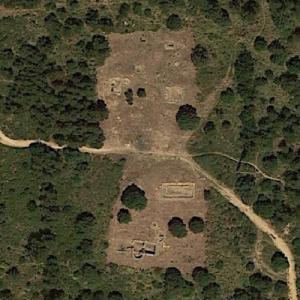 Roman Ruins of Casais Velhos (Google Maps)