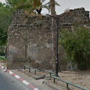 Roman Wall of Tiberias #2 (StreetView)