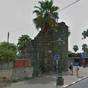 Roman Wall of Tiberias #4 (StreetView)