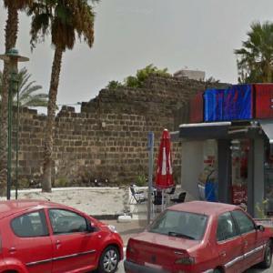 Roman Wall of Tiberias #5 (StreetView)