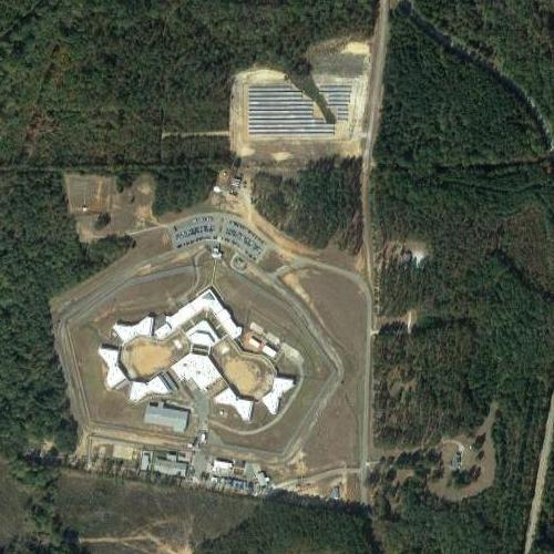 Map Of Georgia Prisons.Hancock State Prison In Sparta Ga Google Maps