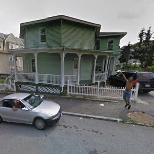 Elias Crawford House (and some very excited passersby) (StreetView)