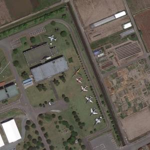 Miho aircraft static display (Google Maps)