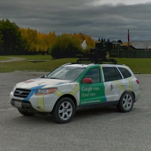 Street View Car In Rocky Mountain House Canada Google Maps