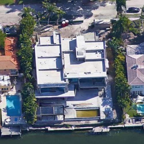 jim goetz's house in miami beach, fl (google maps