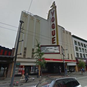 Vogue Theatre (StreetView)