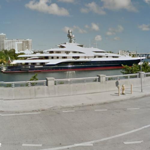 Dennis Washington S Attessa Iv Yacht In Miami In Miami Fl Google