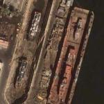 4 in Drydock, port d'Alger (Google Maps)