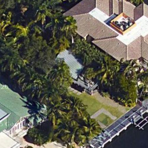 peter b. lewis' house (former) in miami, fl (google maps)