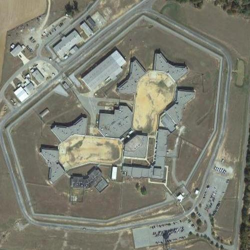 Map Of Georgia Prisons.Washington State Prison In Davisboro Ga Google Maps