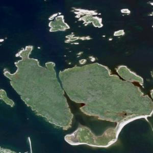 Canso Islands (Google Maps)
