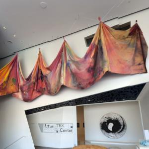 'Carousel Merge' by Sam Gilliam (StreetView)
