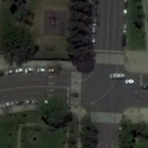 Puerto Madero Street Circuit Turn #4 (Google Maps)