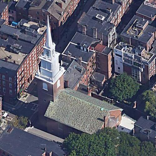 Old North Church Boston (Google Maps)