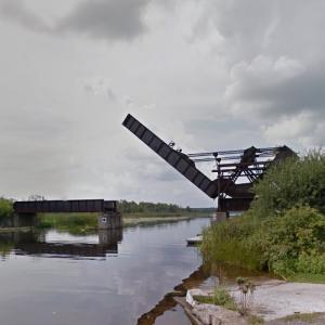 Smiths Falls Bascule Bridge (StreetView)