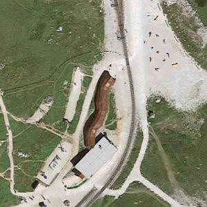 Schneeberg cog railway station (Google Maps)