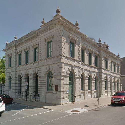 Old Kingston Post Office In Kingston, Canada