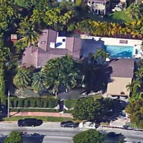 alex sapir's house in miami beach, fl (google maps)