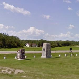 Battle of Duck Lake Monument (StreetView)