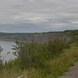 Joggins Fossil Cliffs (StreetView)