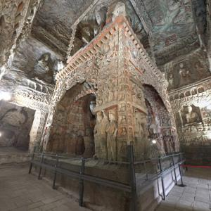Yungang Grottoes (StreetView)