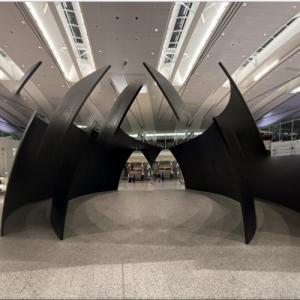 'Tilted Spheres' by Richard Serra (StreetView)