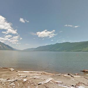 Lake Teletskoye (StreetView)