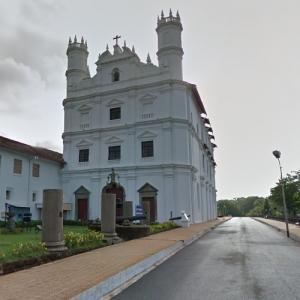 St. Francis of Assisi church, Goa (StreetView)