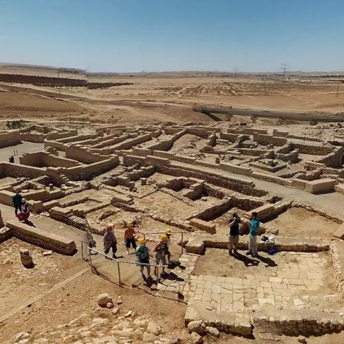 Tel Be'er Sheva in Beersheba, ...