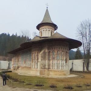 Voroneț Monastery (StreetView)