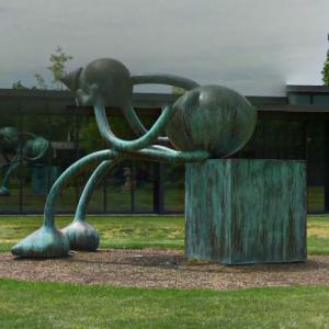 'Crying Giant' by Tom Otterness (StreetView)