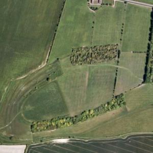Blewburton Hill (Google Maps)