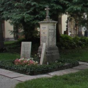 Mozart family grave (StreetView)