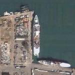 Cruise ship in Beirut