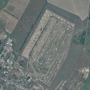 Balakliya arms depot explosions site (March 23, 2017) (Google Maps)