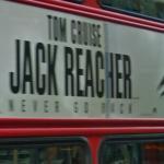 Jack Reacher movie ad