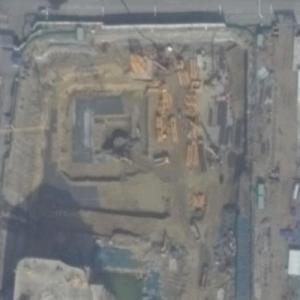 Baoneng Financial Center under construction (Google Maps)