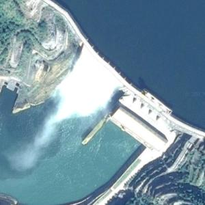 Yeywa Dam - Largest power station in Myanmar (Google Maps)