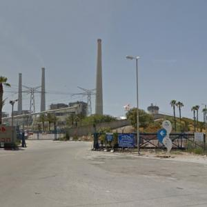 Orot Rabin - Largest power station in Israel (StreetView)