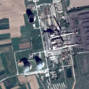 REK Bitola - Largest power station in Macedonia (Google Maps)
