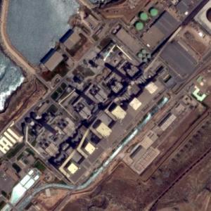 Jorf Lasfar Power Station - Largest power station in Morocco (Google Maps)